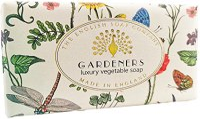 English Soap Company Gardeners Bath Soap - Ексфолиращ сапун с градински аромат -