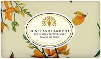English Soap Company Honey and Camomile Bath Soap - Луксозен сапун с аромат на мед и лайка - сапун