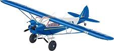 Самолет - Piper PA-18 - Сглобяем авиомодел -