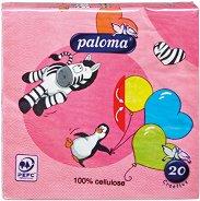 Салфетки за декупаж - Животинско парти - Пакет от 20 броя