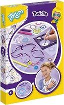 Декорирай сама с шаблони - Бижута - Творчески комплект - играчка