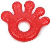 Червена дъвкалка с охлаждащ ефект - Paw - За бебета над 3 месеца -