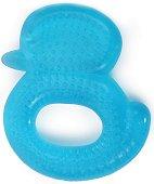 Синя дъвкалка с охлаждащ ефект - Пате - За бебета над 3 месеца -