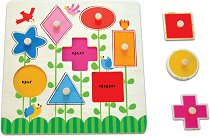 Научи формите и цветовете - играчка