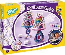 Създай сам - Нощна лампа - Творчески комплект - играчка