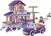 """Къща на плажа - Детски конструктор от серията """"Trendy Beach"""" -"""