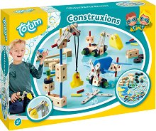Конструирай сам - Строителни машини - Творчески комплект - Конструктор - детски аксесоар