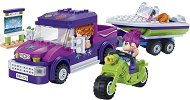 """Плажно пътешествие - Детски конструктор от серията """"Trendy Beach"""" - играчка"""