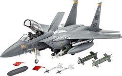 Военен самолет - F-15E Strike Eagle - Сглобяем авиомодел -