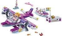 """Воден самолет - Детски конструктор от серията """"Trendy Beach"""" - творчески комплект"""