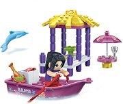 """Плажна беседка - Детски конструктор от серията """"Trendy Beach"""" -"""