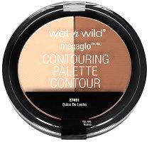 Wet'n'Wild MegaGlo Contouring Palette - Палитра за контуриране на лицето - гланц