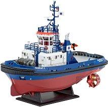 Пристанищна лодка влекач - Harbour Tug Boat Fairplay - Сглобяем модел -