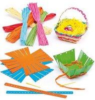 Направи сам - Великденски кошници - Творчески комплект - детска бутилка