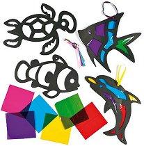 Декорирай сам - Морски животни - творчески комплект
