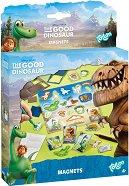 """Създай сам - Магнити - Творчески комплект от серията """"Добрият динозавър"""" - творчески комплект"""