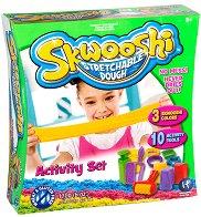 """Забавно тесто за моделиране - Игра с форми - Творчески комплект от серията """"Skwooshi"""" -"""