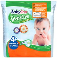 Babylino Sensitive - Maxi Plus 4+ -