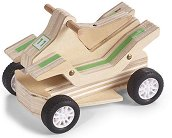 ATV - Дървена играчка за сглобяване - играчка