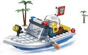 """Полицейска лодка - Детски конструктор от серията """"Police"""" -"""