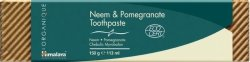 Himalaya Organique Neem & Pomegranate Toothpaste - Натурална паста за зъби с био нийм и нар - продукт