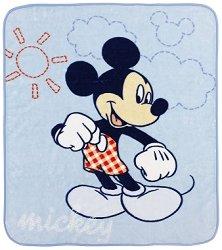 Бебешко одеяло - Мики Маус - Размер 110 x 140 cm - продукт