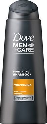 Dove Men+Care Thickening Fortifying Shampoo - лак
