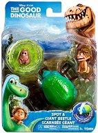 """Спот и бръмбар скарабей - Фигури от серията """"Добрият динозавър"""" -"""