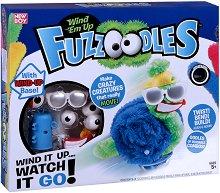 """Направи сам подвижно чудовище - Wind em Up - Творчески комплект от серията """"Fuzzoodles"""" - детска бутилка"""