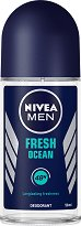 Nivea Men Fresh Ocean Deodorant Roll-On - Ролон дезодорант за мъже - крем