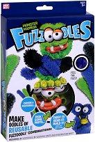 """Направи сам гъвкаво чудовище - Monster Madness - Творчески комплект от серията """"Fuzzoodles"""" - играчка"""