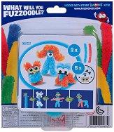 """Направи сам гъвкаво чудовище - Glares & Stares - Творчески комплект от серията """"Fuzzoodles"""" - творчески комплект"""