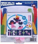 """Направи сам гъвкаво чудовище - Silly Chic - Творчески комплект от серията """"Fuzzoodles"""" - топка"""