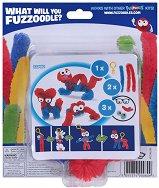 """Направи сам гъвкаво чудовище - Clip'n Carry - Творчески комплект от серията """"Fuzzoodles"""" -"""