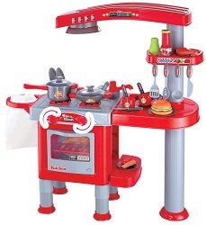 Детска кухня - Your Kitchen - Комплект с аксесоари - играчка