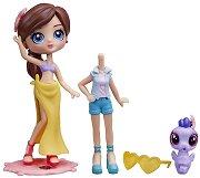 """Кукла Блайт с домашен любимец - Beach Style - Играчкa от серията """"Littlest Pet Shop - Blythe Loves"""" -"""