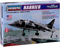 Военен самолет - Harrier - Сглобяем авиомодел -