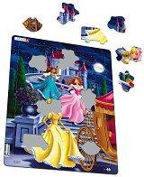 Принцеси - Пъзел в картонена подложка -