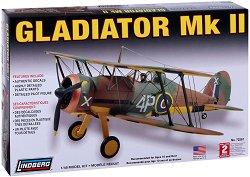 Военен самолет - Gladiator MK II - Сглобяем авиомодел -