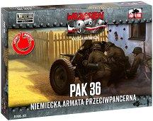"""Противотанково оръдие - 3.7 cm PaK 36 - Сглобяем модел от серията """"Септември 1939"""" -"""