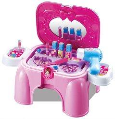 Детска тоалетка - Beauty - Комплект с аксесоари - играчка