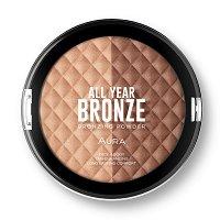 Aura All Year Bronze - Борнзираща пудра за лице и тяло - четка