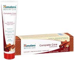 Himalaya Botanique Complete Care Toothpaste - Simply Cinnamon - Паста за цялостна грижа на зъбите и венците с канела - продукт