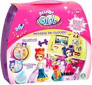 Магазин за кученца - Beados Girls - Детски комплект за игра - хартиен модел