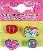 Детски пръстени - Комплект от 4 броя - играчка