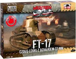 """Танк - Renault F-17 - Сглобяем модел от серията """"Септември 1939"""" - макет"""