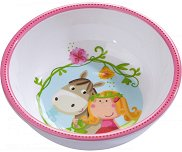 """Детска меламинова купичка за хранене - От серията """"Вики"""" за бебета над 6 месеца -"""