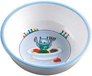 """Детска меламинова купичка за хранене - От серията """"Малки чудовища"""" за бебета над 6 месеца -"""