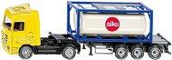 """Камион с контейнер - Mercedes Actros - Метална играчка от серията """"Super: Transport"""" - играчка"""