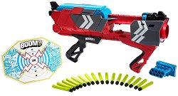 """Бластер - Stealth Ambush - Комплект със 17 броя меки стрелички от серията """"BOOMco"""" - играчка"""